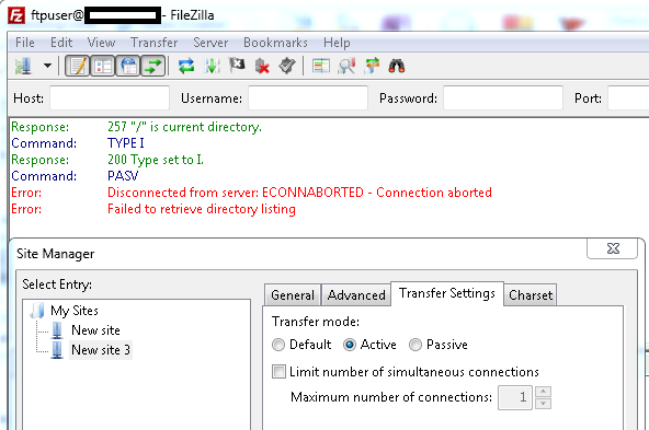 Ftp 550 Failed To Open File