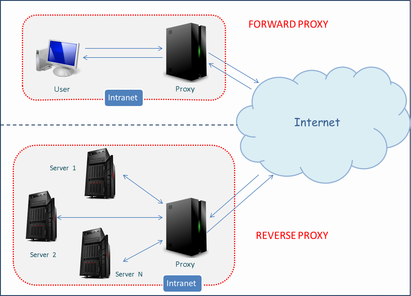 forward reverse proxy