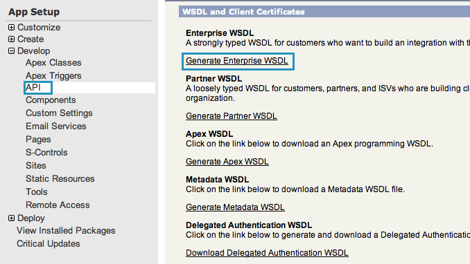 salesforce-generate-wsdl