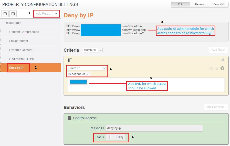 Akamai Deny By IP