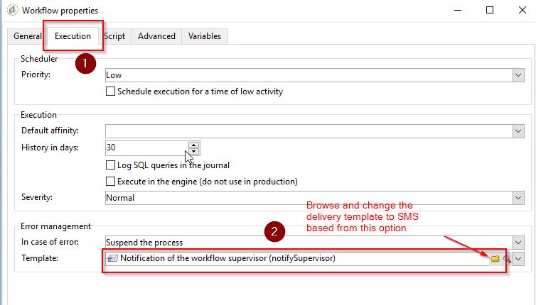 Update Error Management